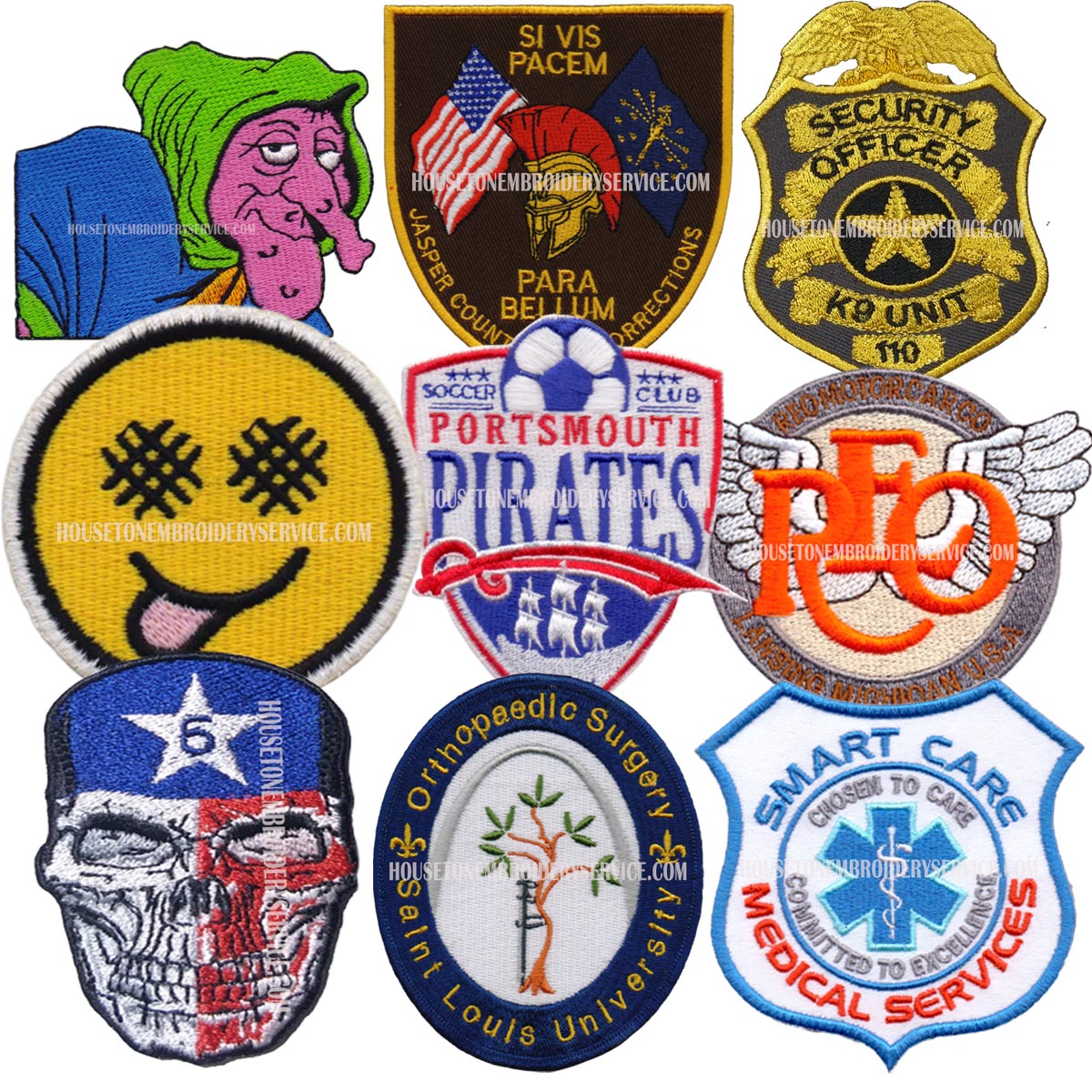 It's time to head to college! Customized Velcro Patches for Pupils, Athletes & Administration!