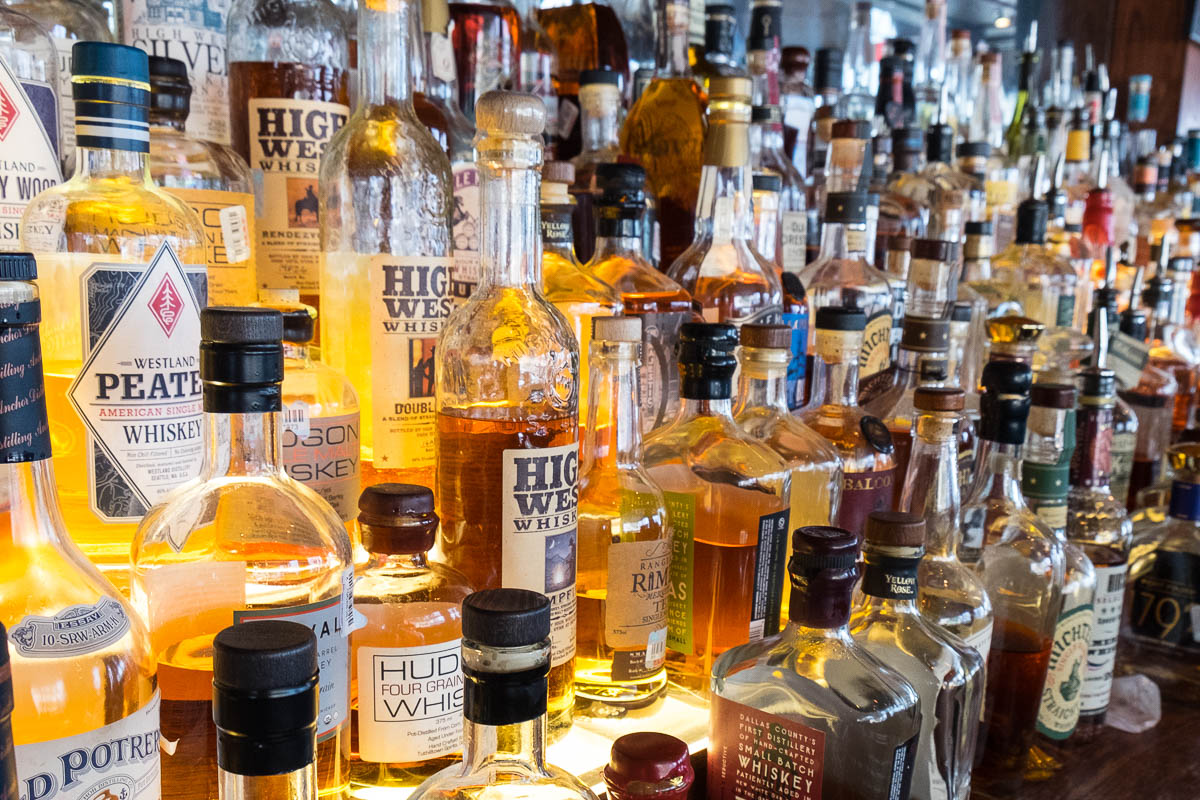 Reserve 101 In Downtown Houston Has The Largest Selection Of Whisky/whiskey  And Bourbon In Houston And Is Regarded As One Of The Best Bars Of Its Kind  In ...