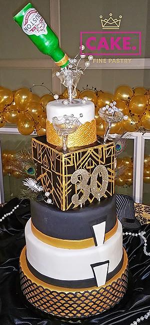 CAKE Fine Pastry birthday cake