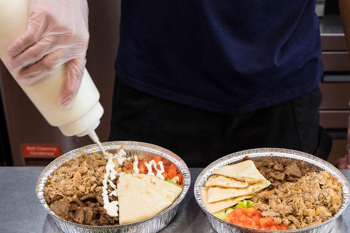 The Halal Guys white sauce