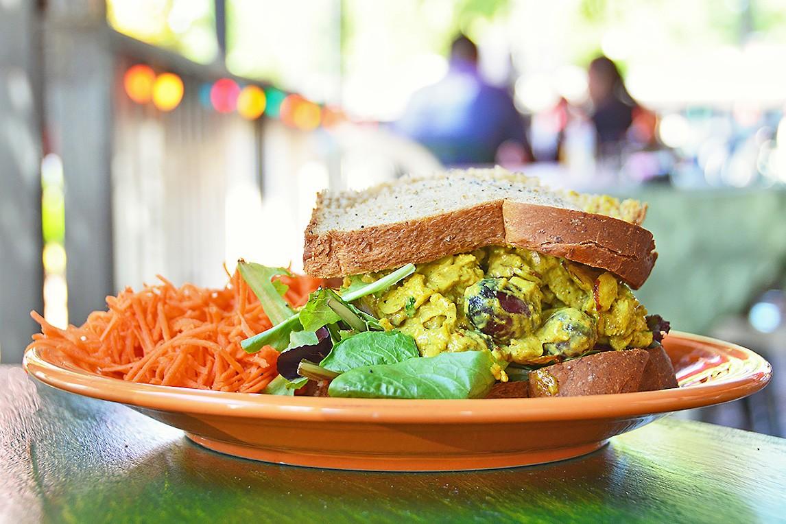 The Dwalin sandwich at Hobbit Cafe