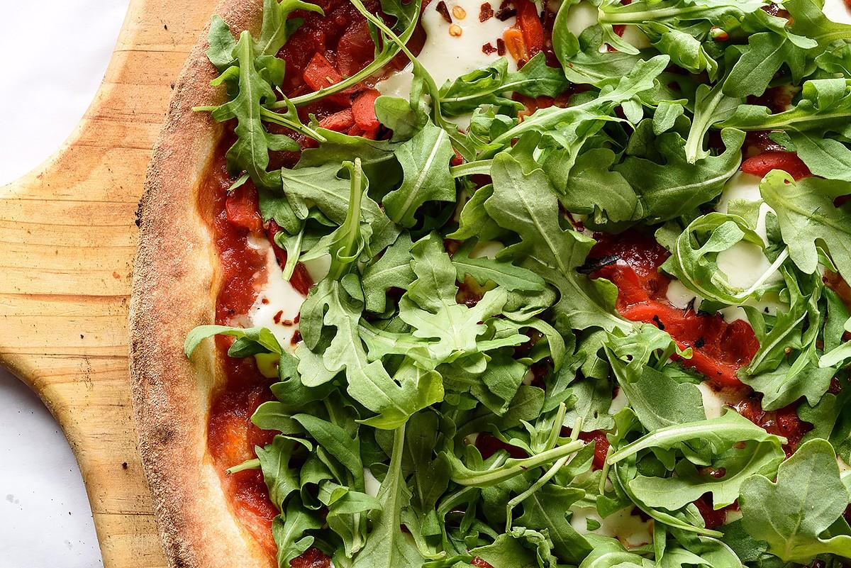 Diavola pizza at Bollo