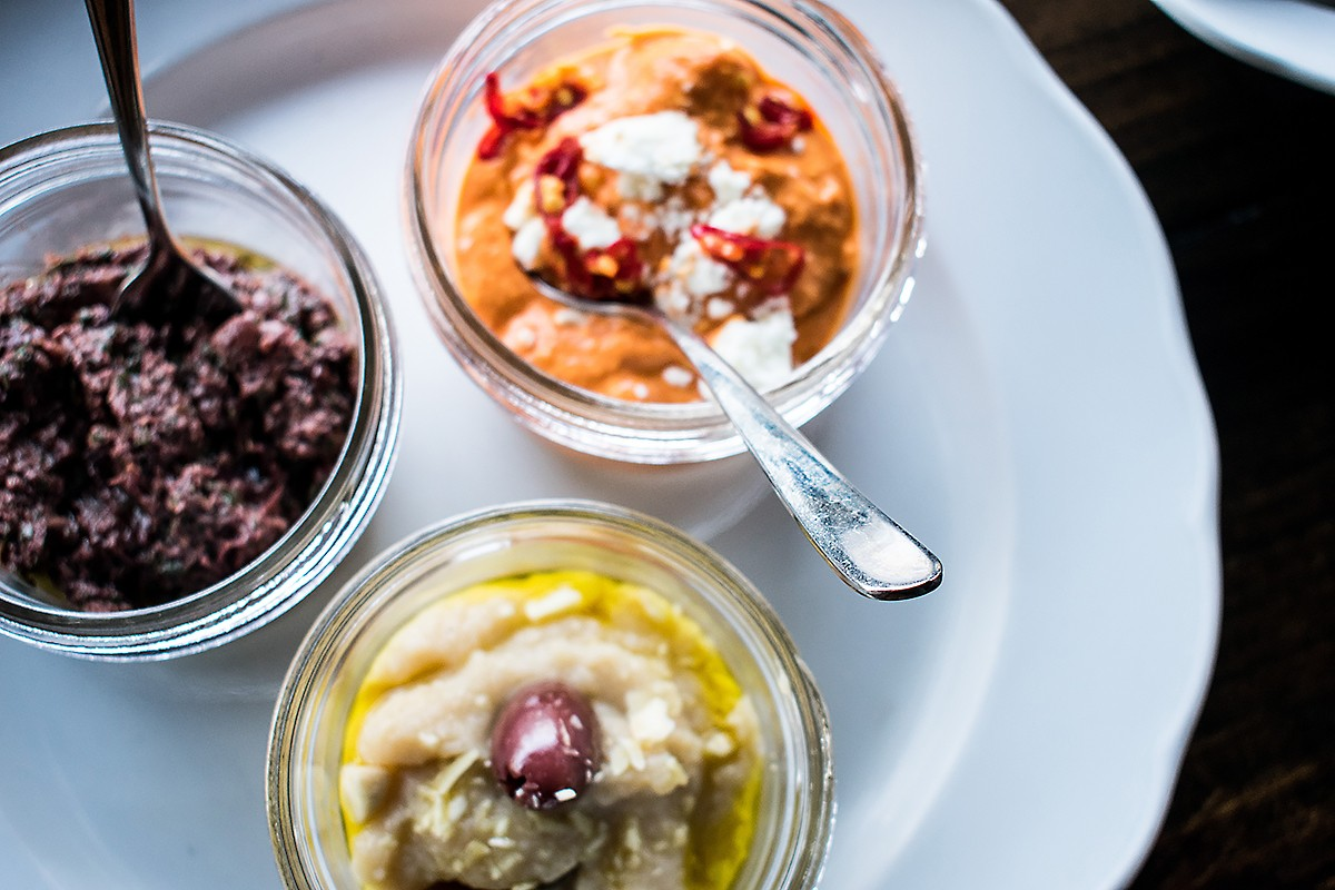Dips at Helen In The Heights