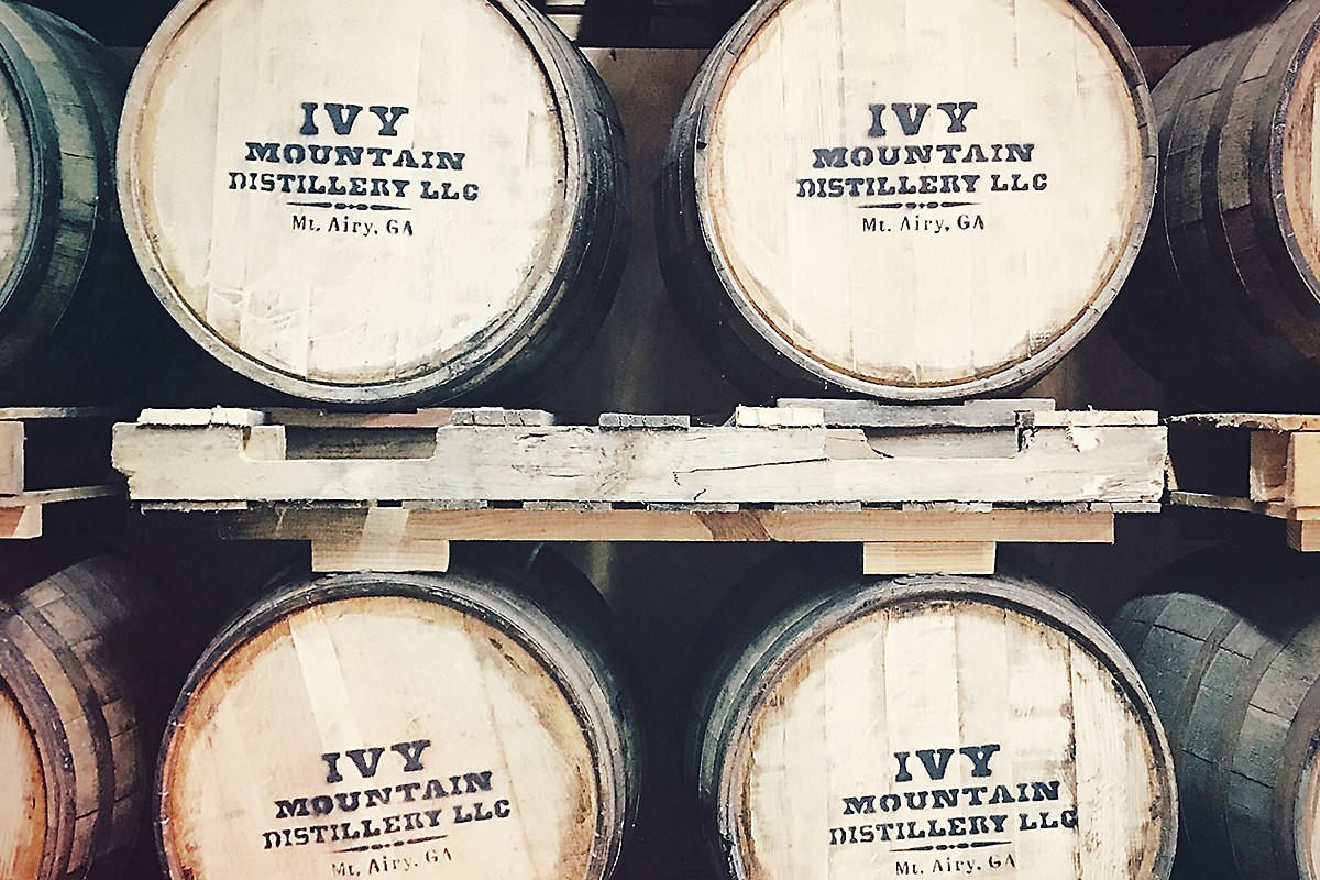 Ivy Mountain barrels