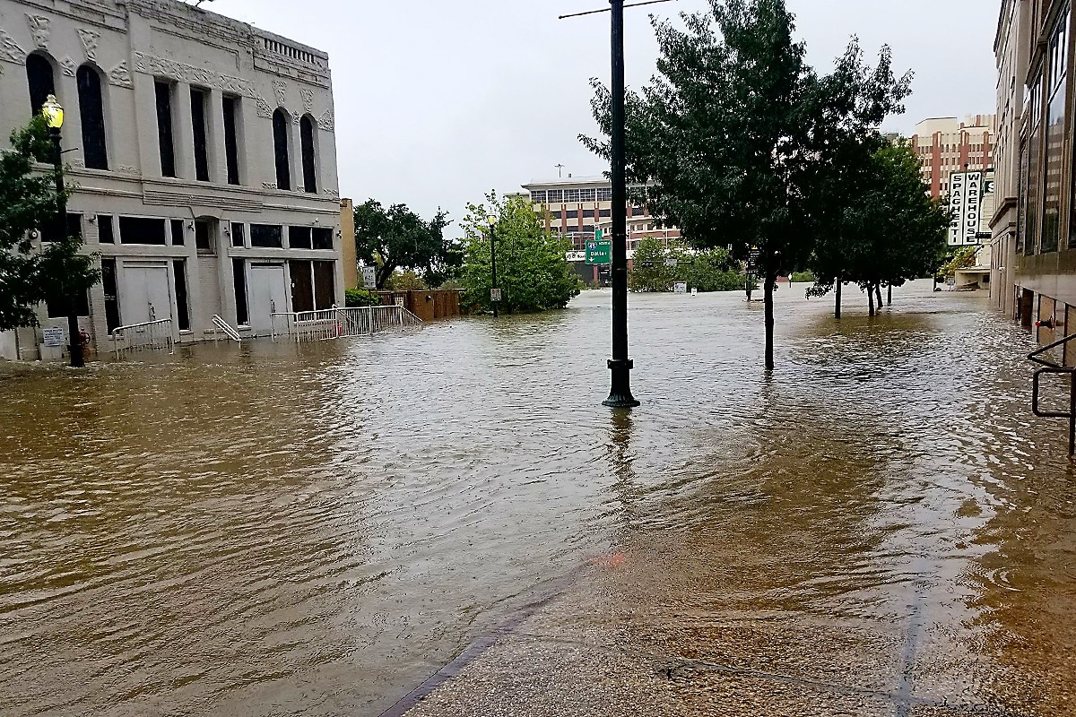 Travis Street Flood