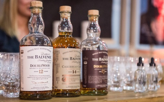 The Balvenie whiskys