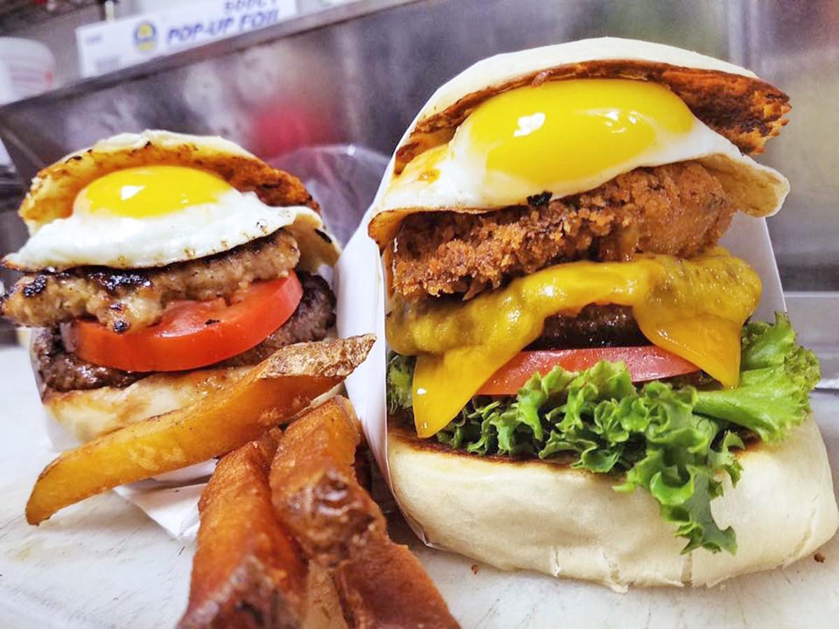 Flip 'n Patties burgers