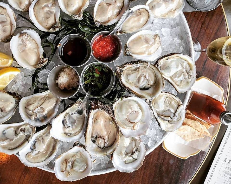 Oysters at State of Grace