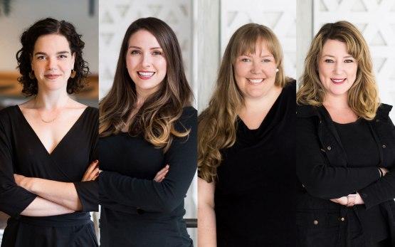 Photo of Julie Rogers, Olivia Gordon, Layne Cruz and Christina Ramey