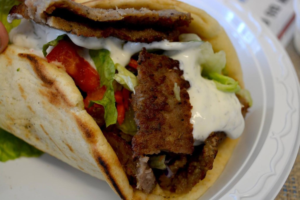 Picture of a gyro.