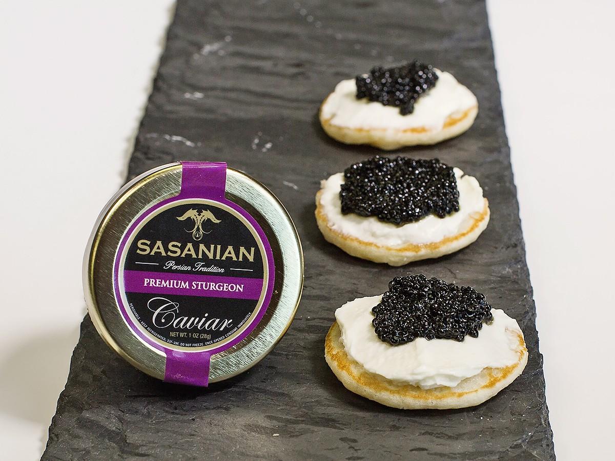 DR Delicacy sturgeon caviar