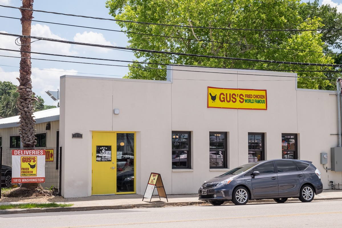 Gus's Fried Chicken in Houston