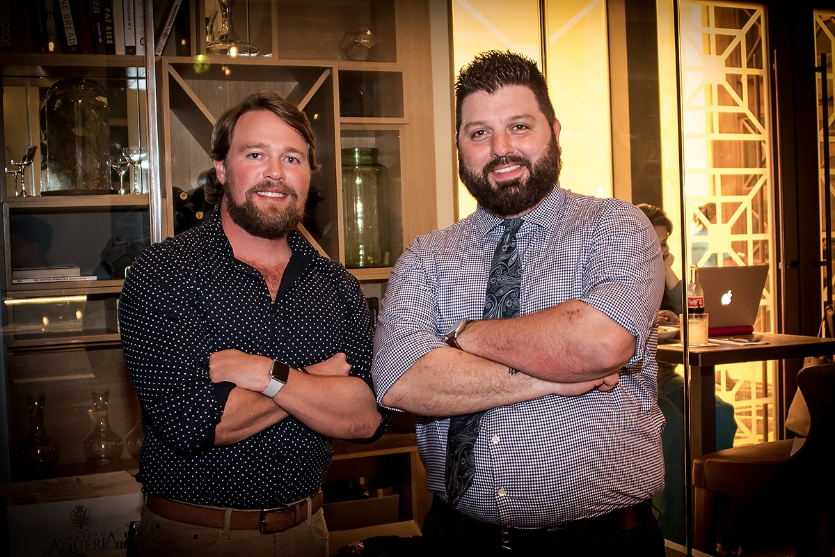 Chaz Lusk and Sean Marshall of Coterie.