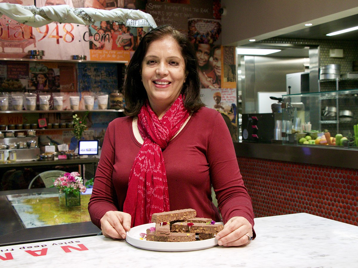Houston Chocolate Hero Anita Jaisinghani