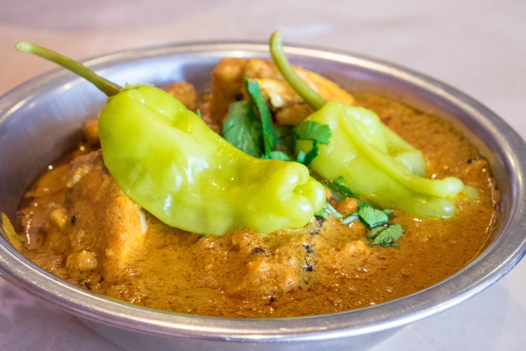 green curry at Himalaya