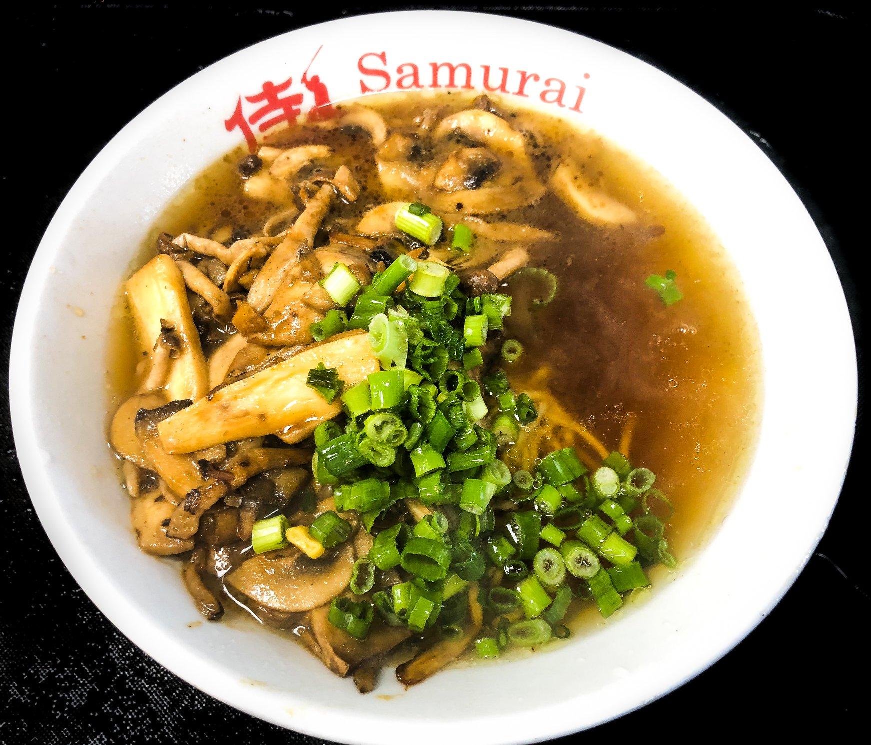 Kinoko Shouyu Ramen at Samurai Noodle