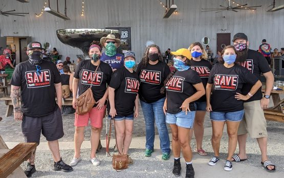 A group of craft beer advocates on a Texas Beer Run