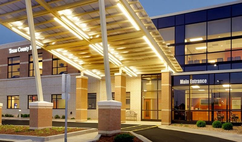 Texas County Memorial Hospital building