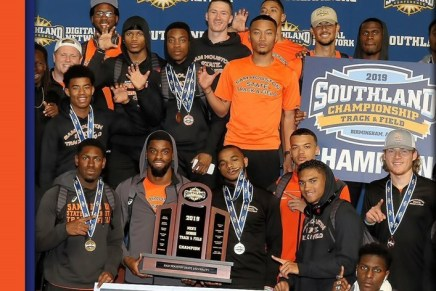Kats Dominate on Track, Claim 4th Consecutive Indoor Title
