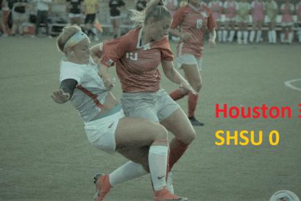 SHSU Soccer Shutout in Season Opener