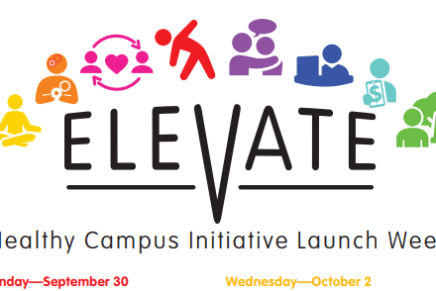 Office of Health Promotion Launches Elevate Initiative