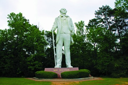 'A Tribute to Courage': 25 Years of the Sam Houston Statue