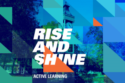 'Rise and Shine' QEP Emphasizes Active Learning