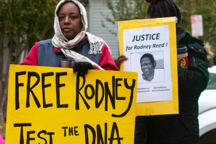 Rodney Reed Execution Protest