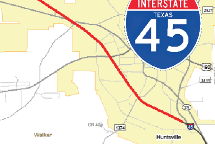 Construction on I-45 Set to Continue into Huntsville
