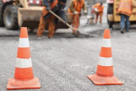 Huntsville construction on I-45 removes old businesses
