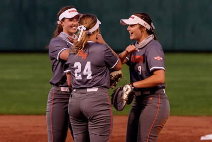 Softball falls 7-3 to No. 24 Baylor in midweek battle