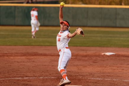 Softball drops 2 of 3 against Huskies