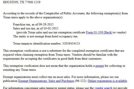 Free Resume Templates » texas sales tax registration   Free Templates