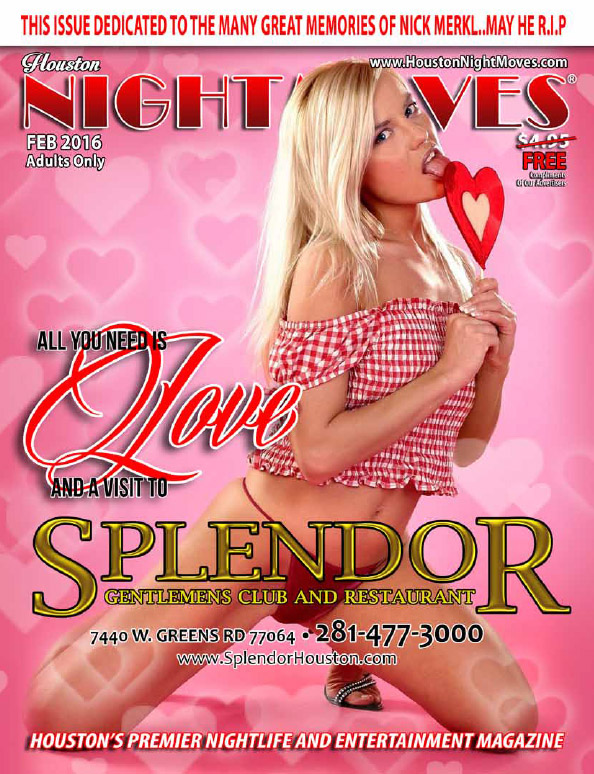 February issue of Nightmoves Houston