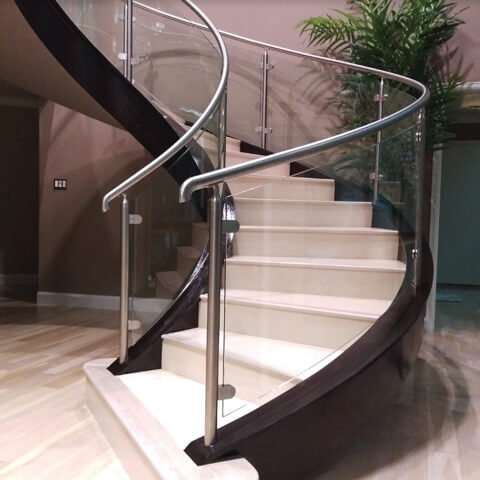 Houston Stair Parts Stair Remodel Iron Balusters Railing   Stair Railing Company Near Me   Stair Treads   Deck   Glass Railing   Stair Systems   Iron Balusters