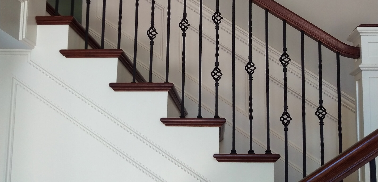 Houston Stair Parts Stair Remodel Iron Balusters Railing | Staircase Companies Near Me | Stair Parts | Floating Staircase | Spiral Staircase | Stair Railing | Stair Lift