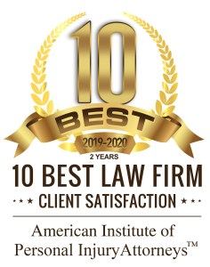 10 best personal injury lawyers award