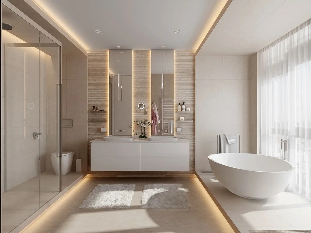 23 Modern Bathroom Ideas That Will Make Your Friends Jealous 2020