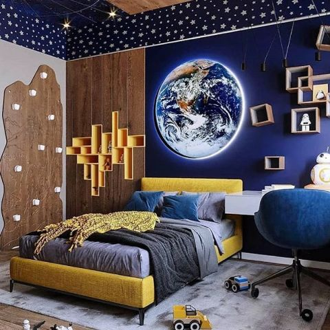 space bedroom ideas ready for lift off
