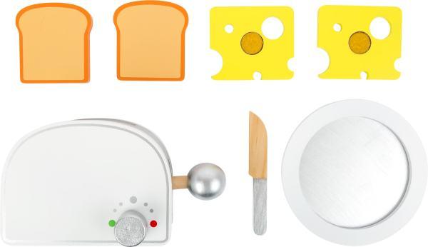 Houten ontbijt broodrooster