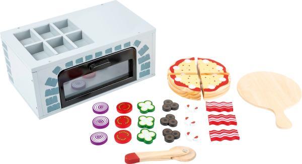 Houten pizza oven speelgoed