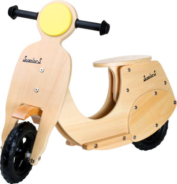 houten loopfiets vespa moto