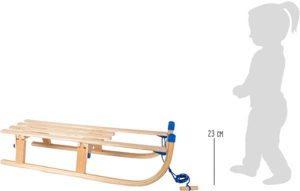 houten slee