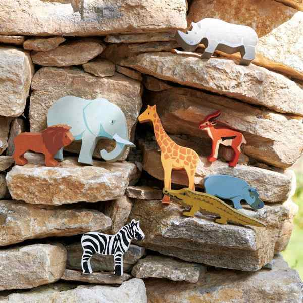Houten safari