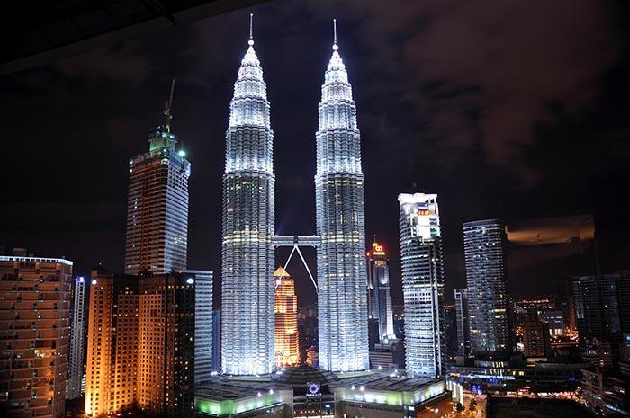 Torres Petronas en Kuala Lumpur, Malasia