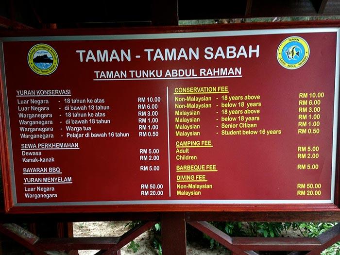 Parque Marino de Kota Kinabalu, Borneo