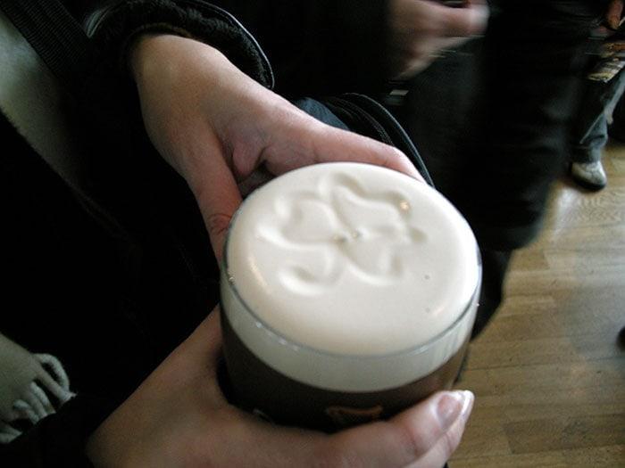 Presupuesto para un viaje a Dublín, Irlanda: Pinta de cerveza