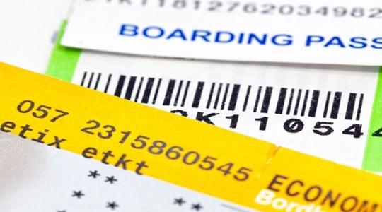 billetes avion