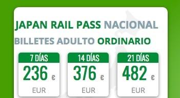 Japan Rail Pass 2017