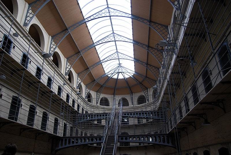 La antigua carcel de Kilmainham Gaol en dublin